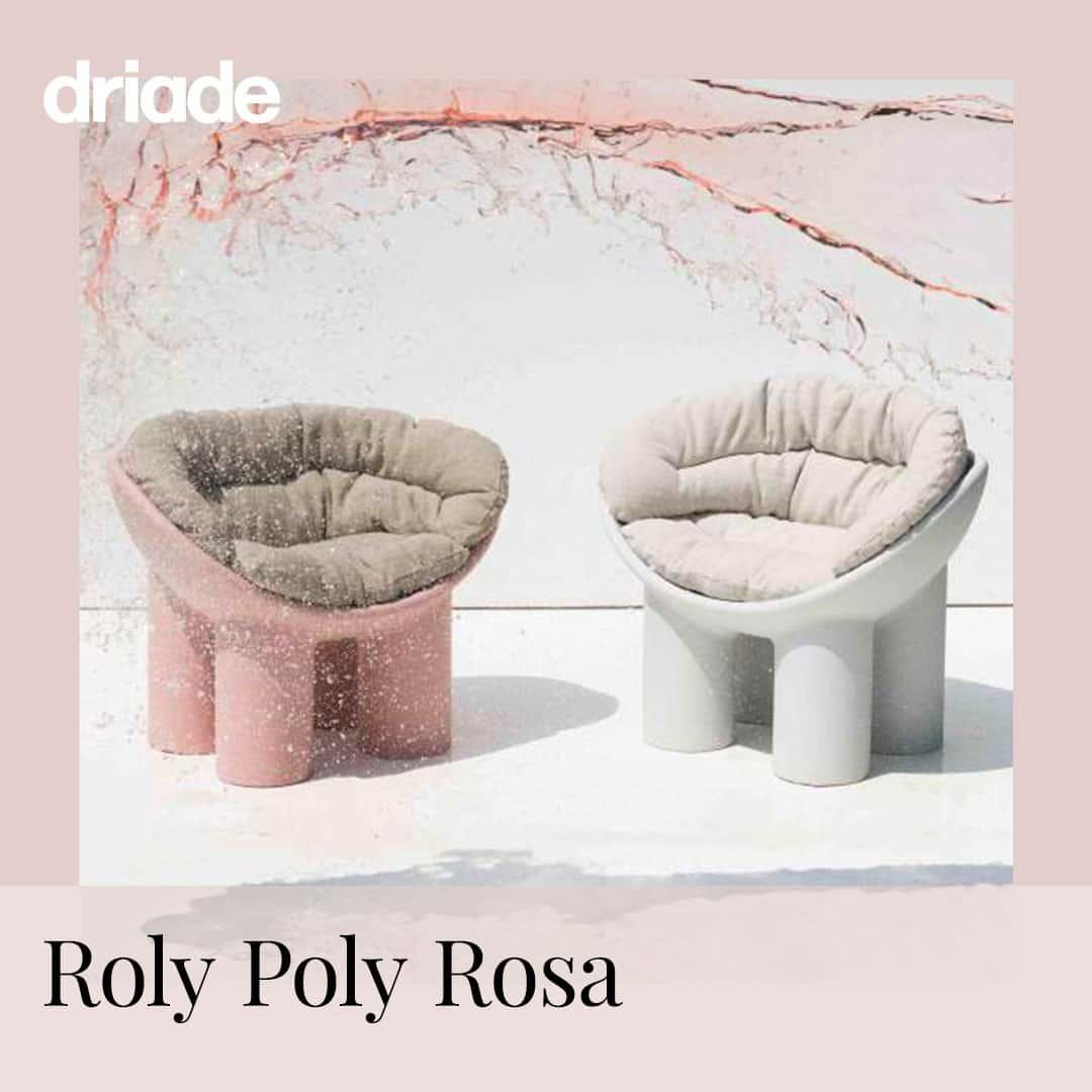 Rivenditore Driade Bari - Roly Poly Rosa